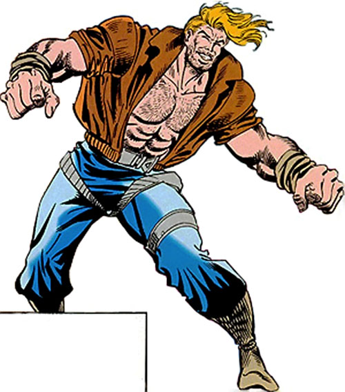 Knockabout (Marvel Comics), agent of SHIELD