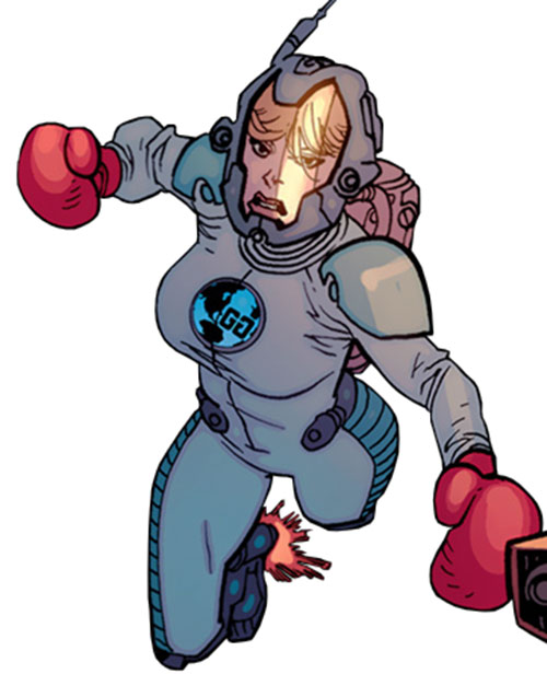 Knock Out (Guardians of the Globe (Image Comics) in a space suit