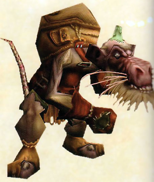 Kobold in World of Warcraft concept render