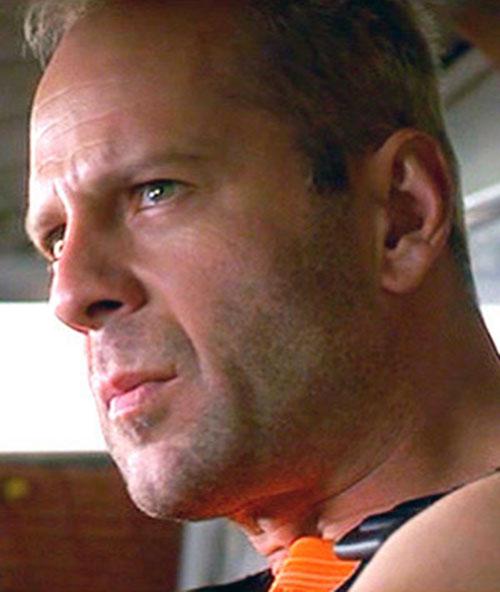 Bruce Willis as Korben Dallas