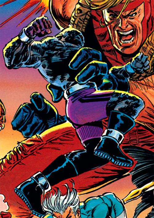 Korg of the Gatherers (Avengers enemy) (Marvel Comics) vs. Giant-Man
