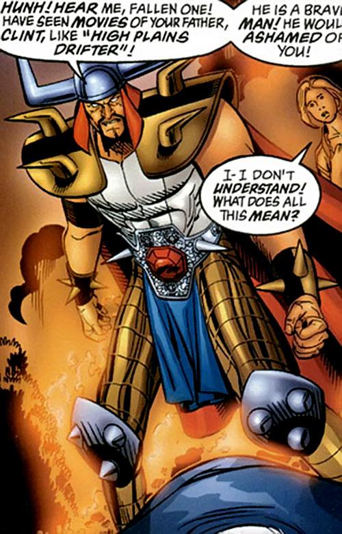 Korgo the Space Tyrant (Supreme enemy) (Image Comics) vs. Bill Clinton