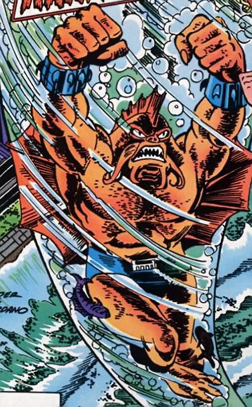 Kraken (Supergirl enemy) (DC Comics) underwater
