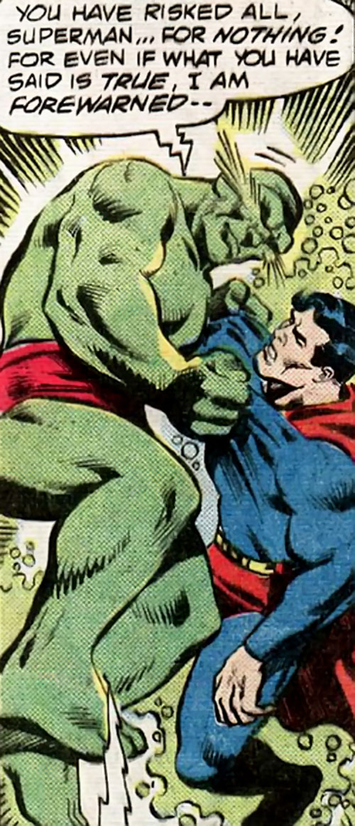 The Kryptonite Man II (DC Comics) vs. Superman