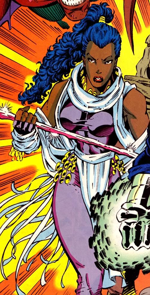 Krystalin of the X-Men 2099 (Marvel Comics)