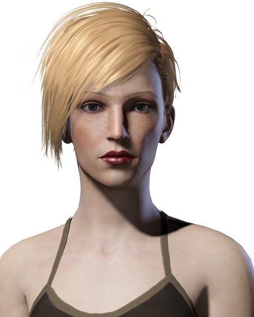 Ksenia Venom (Torchlight character) portrait frontal