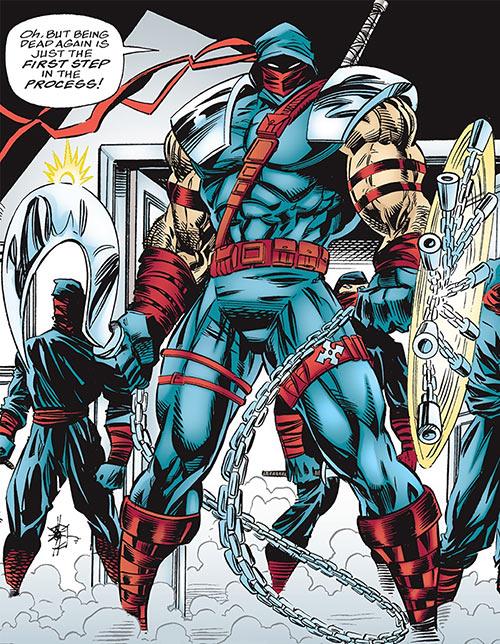Kuroyama (Elektra enemy) (Marvel Comics) and Hand ninja