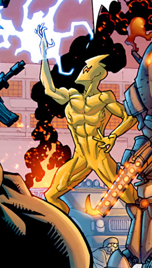 Kursk (Invincible enemy) (Image Comics) does lightning
