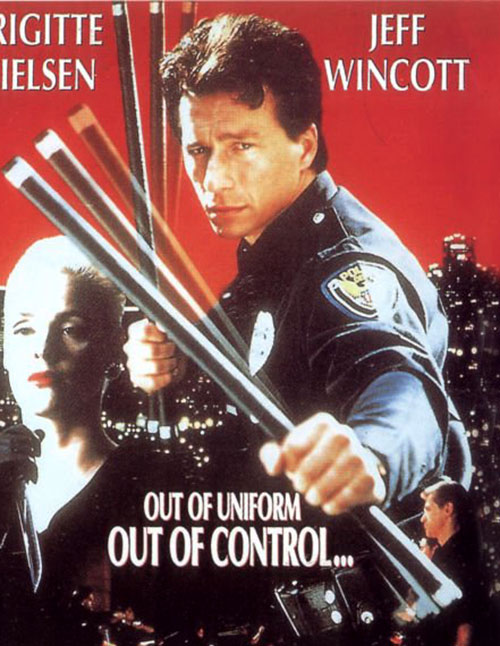 Kurt Harris (Jeff Wincott in Mission of Justice) in uniform