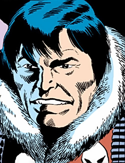 Kwinn the Eskimo - GI Joe - Marvel Comics - Portrait