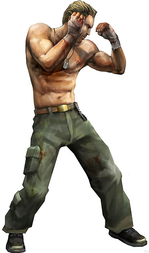 Kyle Travers (Final Fight / Street Fighter character)