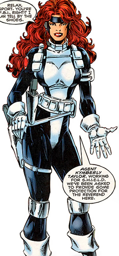 Kymberly Taylor of SHIELD (Punisher ally) (Marvel Comics)
