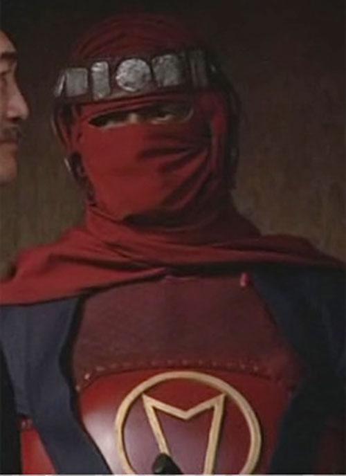 Kyo (Richard Norton in the Octagon) closeup