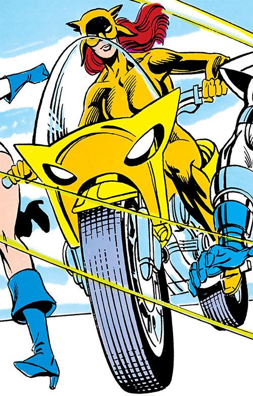 """""""La Garro"""" - Prototype version of Wildcat of Infinity Inc - DC Comics"""