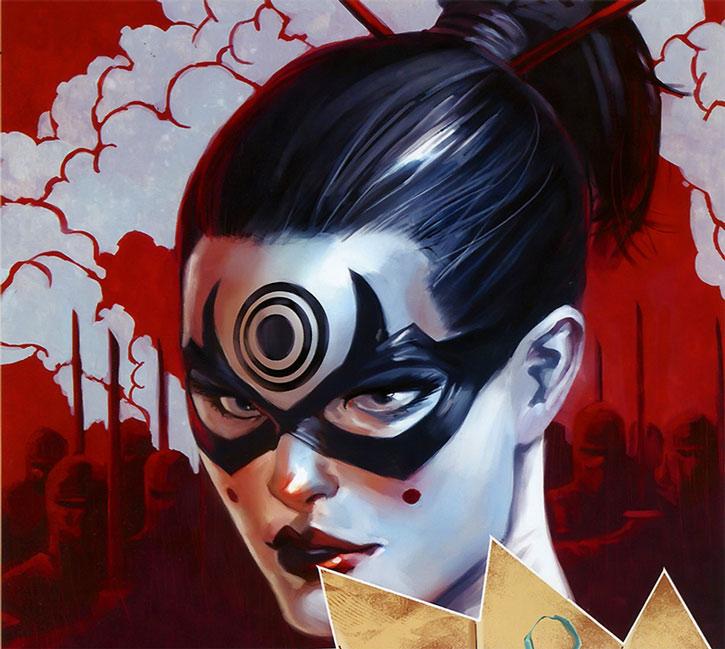 Lady Bullseye portrait