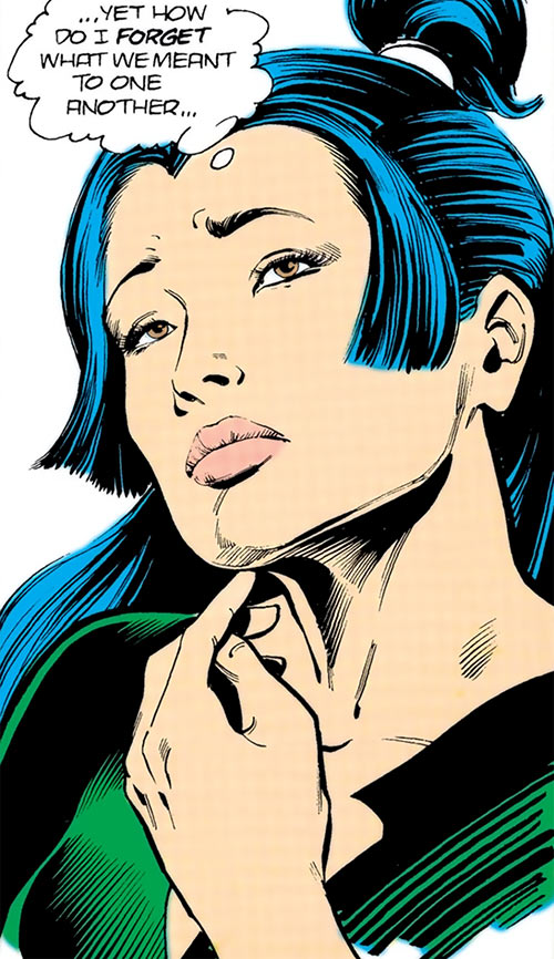 Lady Chian (DC Comics Arion) portrait thinking