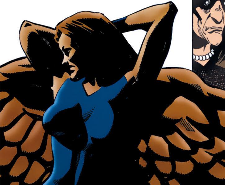 Lady Clay / Clayface 4 (DC Comics) recap wings