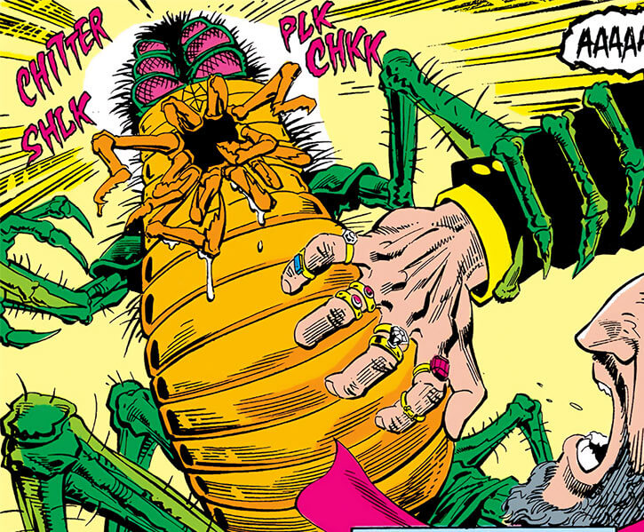 Lady Clay / Clayface 4 (DC Comics) monster insect form