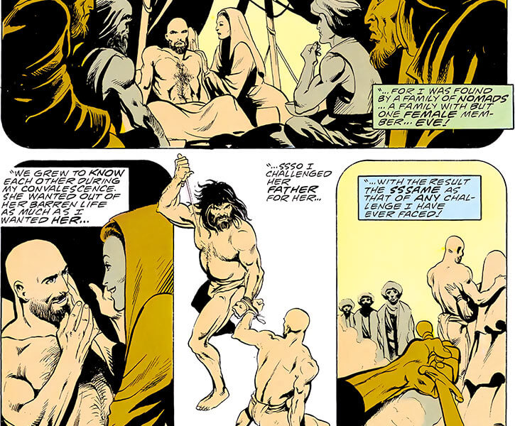 Lady Eve (DC Comics) (Kobra leader, Outsiders enemy) origin sequence