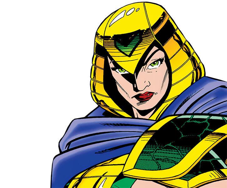 Lady Eve (DC Comics) (Kobra leader, Outsiders enemy) portrait costume