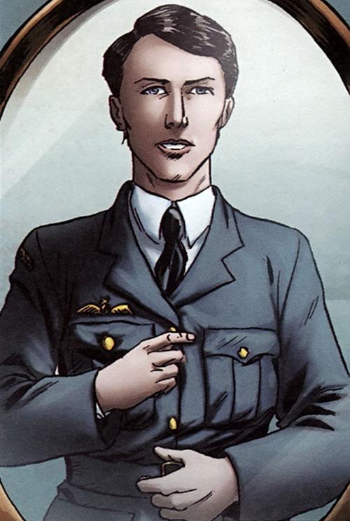 Lady Spitfire (Laure Chevalier) cheveux courts uniforme