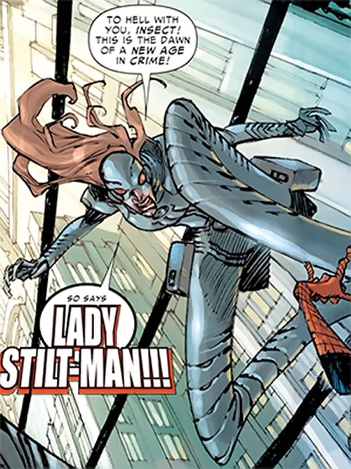 Lady Stilt-Man (Spider-Man character) (Marvel Comics)