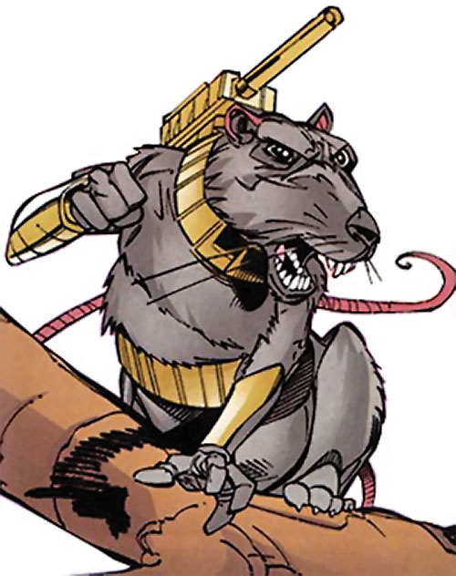 Lady Vermin of the Knights of Wundagore (Quicksilver ally) (Marvel Comics)
