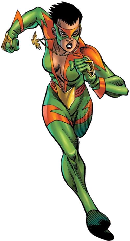 Ladyhawk (Spider-Girl ally) (Marvel Comics MC2)