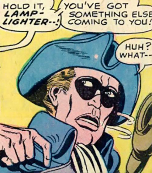 Lamplighter (Lee Carver) face closeup