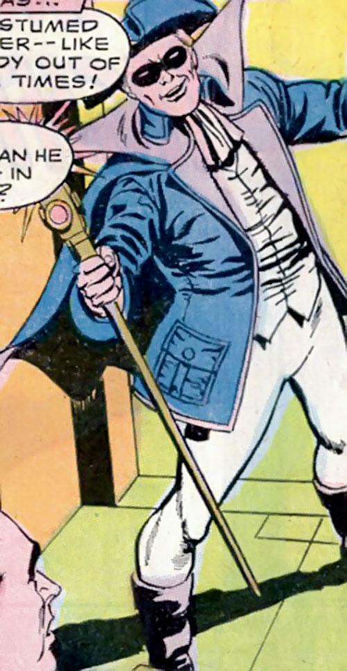 Lamplighter (Lee Carver) in costume