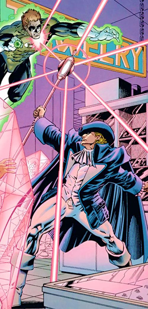 Lamplighter (Lee Carver) vs. Green Lantern