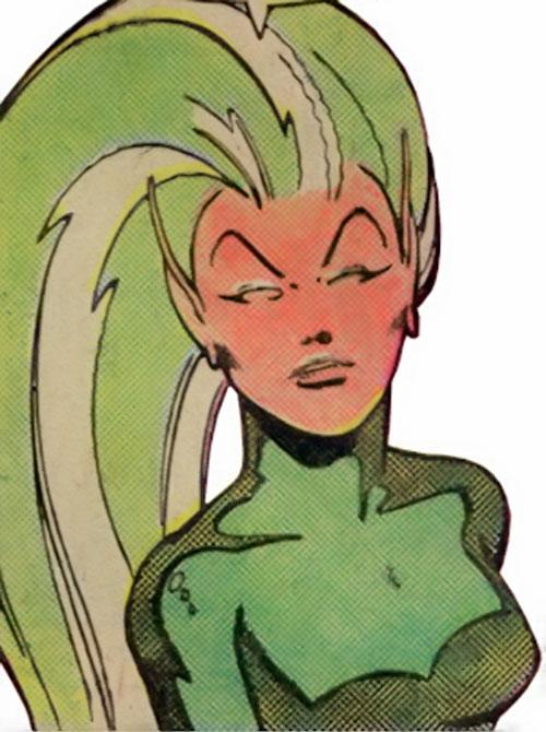 Lamprey of the legion of Super-Heroes (DC Comics)