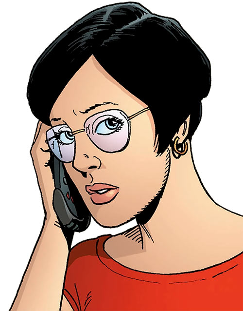Lana Kennedy (Global Frequency comics)
