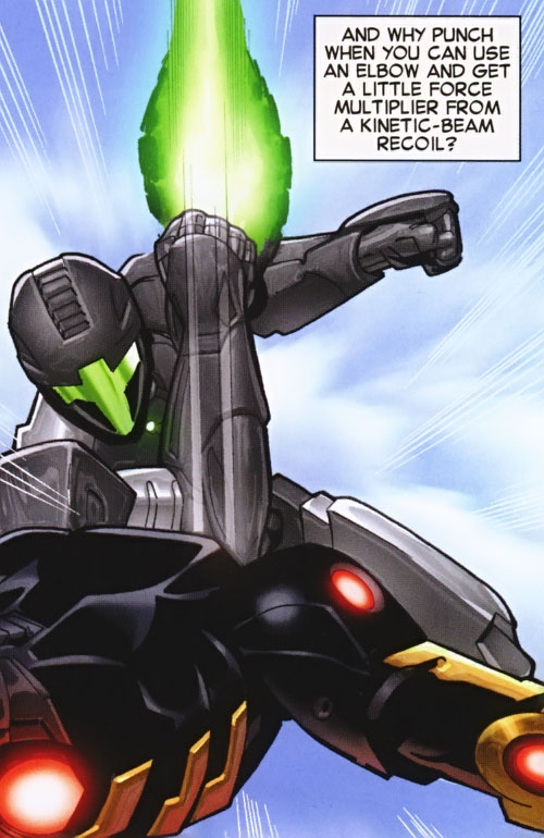 Lancelot (Iron Man character) (Marvel Comics) elbow strike