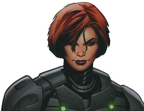 Lancelot (Iron Man character) (Marvel Comics) face closeup