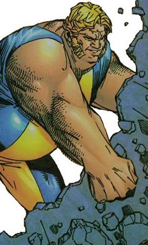 Landslide of Cerebro's X-Men (Marvel Comics)