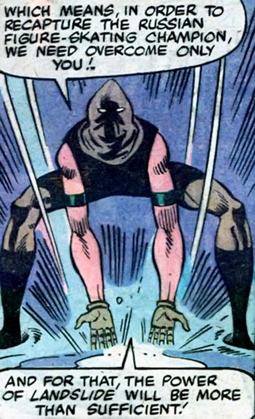 Landslide of the Outcasts (Spider-Man / Hulk character) (Marvel Comics)