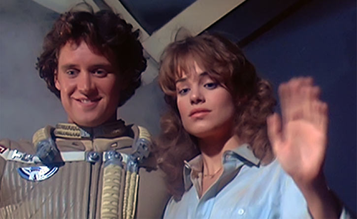 The Last Starfighter movie - Alex and Maggie