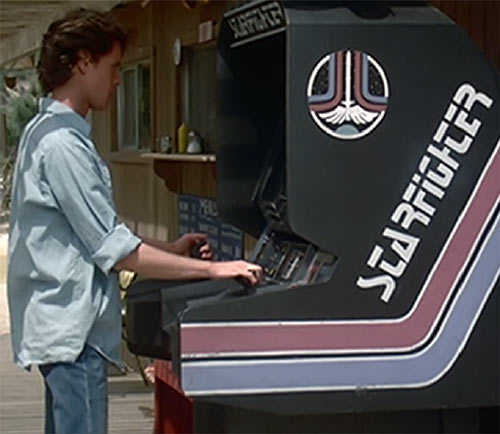 The Last Starfighter movie - Alex playing the game