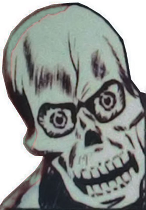 The Laughing Skull's mask