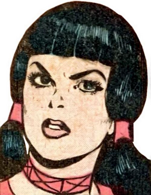 Laura Kent (Superman character) (DC Comics) face closeup