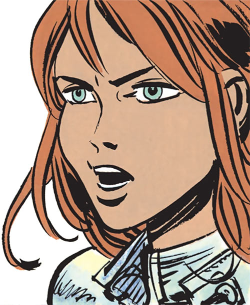 Laureline (Valerian graphic novels) angry face