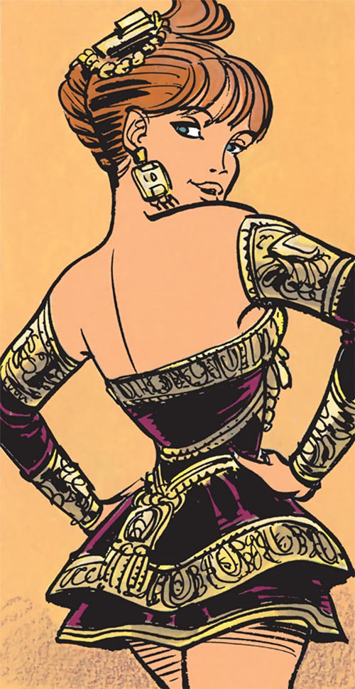 Laureline (Valerian graphic novels) sexy sophisticated dress