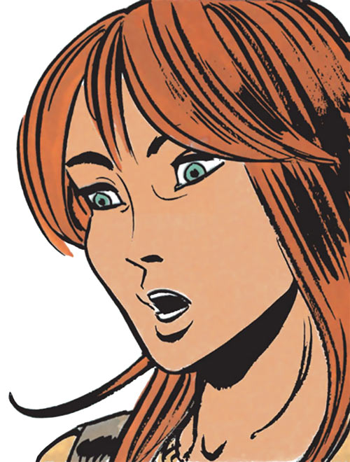 Laureline (Valerian graphic novels) shocked face