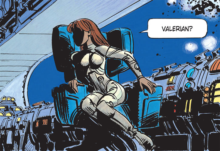 Laureline (Valerian graphic novels) is built like the shit