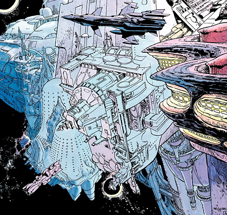 Point Central (Valerian and Laureline graphic novels)