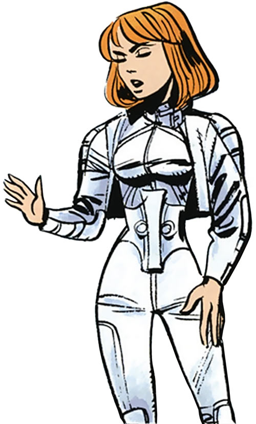 Laureline (Valerian graphic novels) with bolero