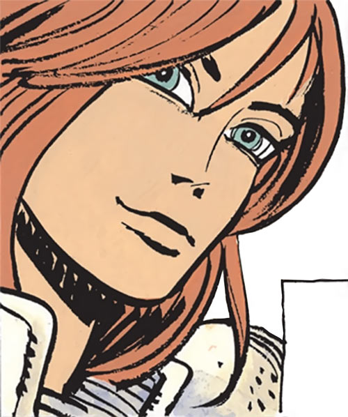 Laureline (Valerian graphic novels) portrait