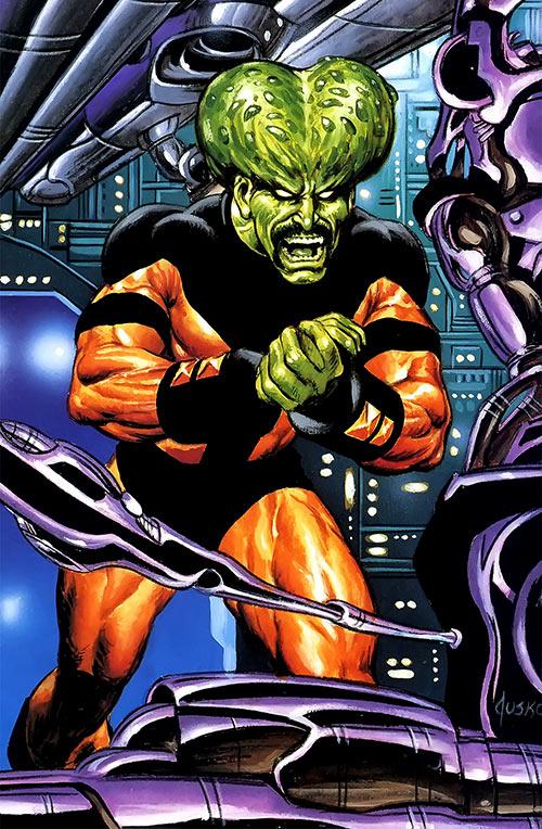 Leader (Hulk enemy) (Marvel Comics) masterpieces painting by Joe Jusko