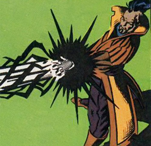 The Left Hand (New Warriors enemy) (Marvel Comics)